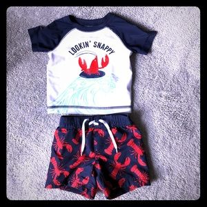 Other - Old navy baby boy bathing suit set